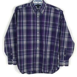 Tommy Hilfiger Mens Shirt Size XL Button Front
